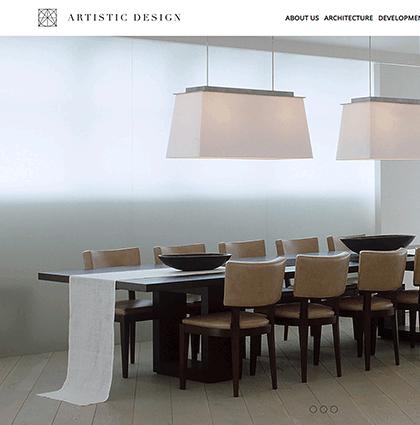 Copywriting for Russian Architect Dmitry Velikovsky