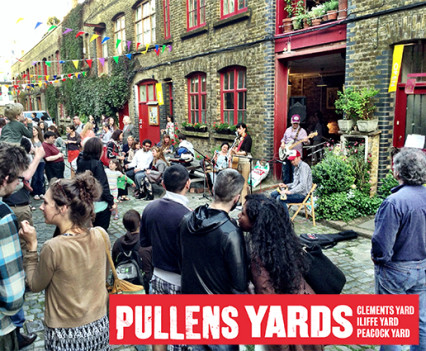 PR, copywriting and marketing for Pullens Yards