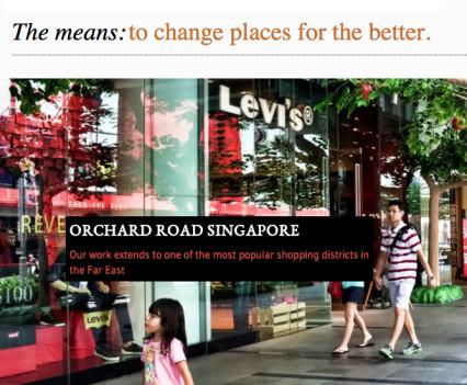 copywriting urban regeneration