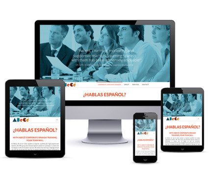 website copywriting for Abece Spanish