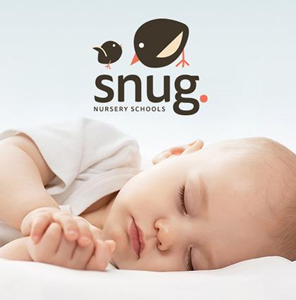 Branding for a nursery umbrella brand