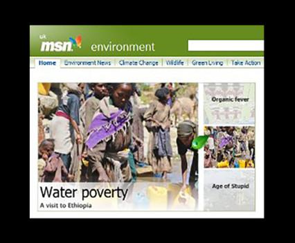 ethical copywriting MSN WaterAid