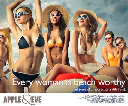 Apple & Eve beauty copywriting