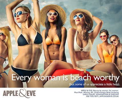 Apple & Eve beauty copywriting