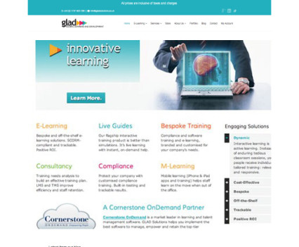 B2B copywriting website