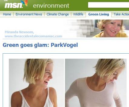 fashion copywriting for MSN