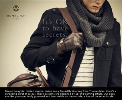 men fashion copywriting