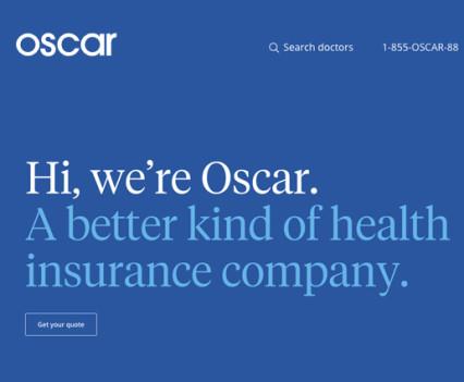 oscar heath insurance logo