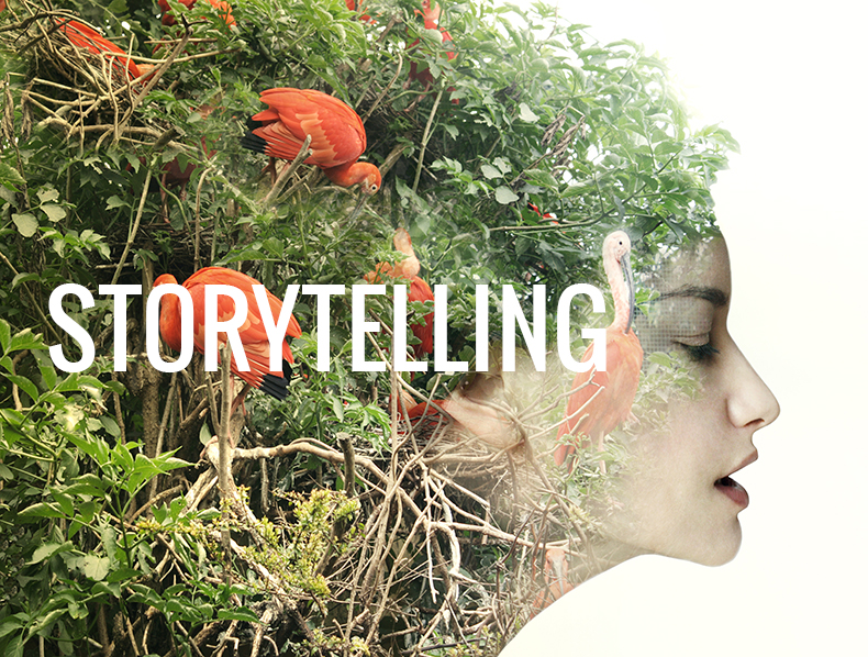 Compelling stories required. Persuasion beats the hard sell.